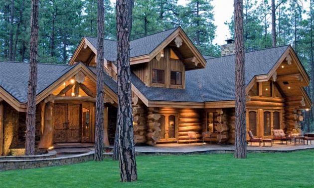 Pictures Log Cabins