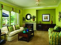 18 Astounding Green Living Room Designs That Will Catch ...