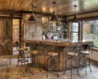 Rustic Home Bar Designs - Homemade Ftempo