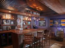 Rustic Home Bar Design Ideas