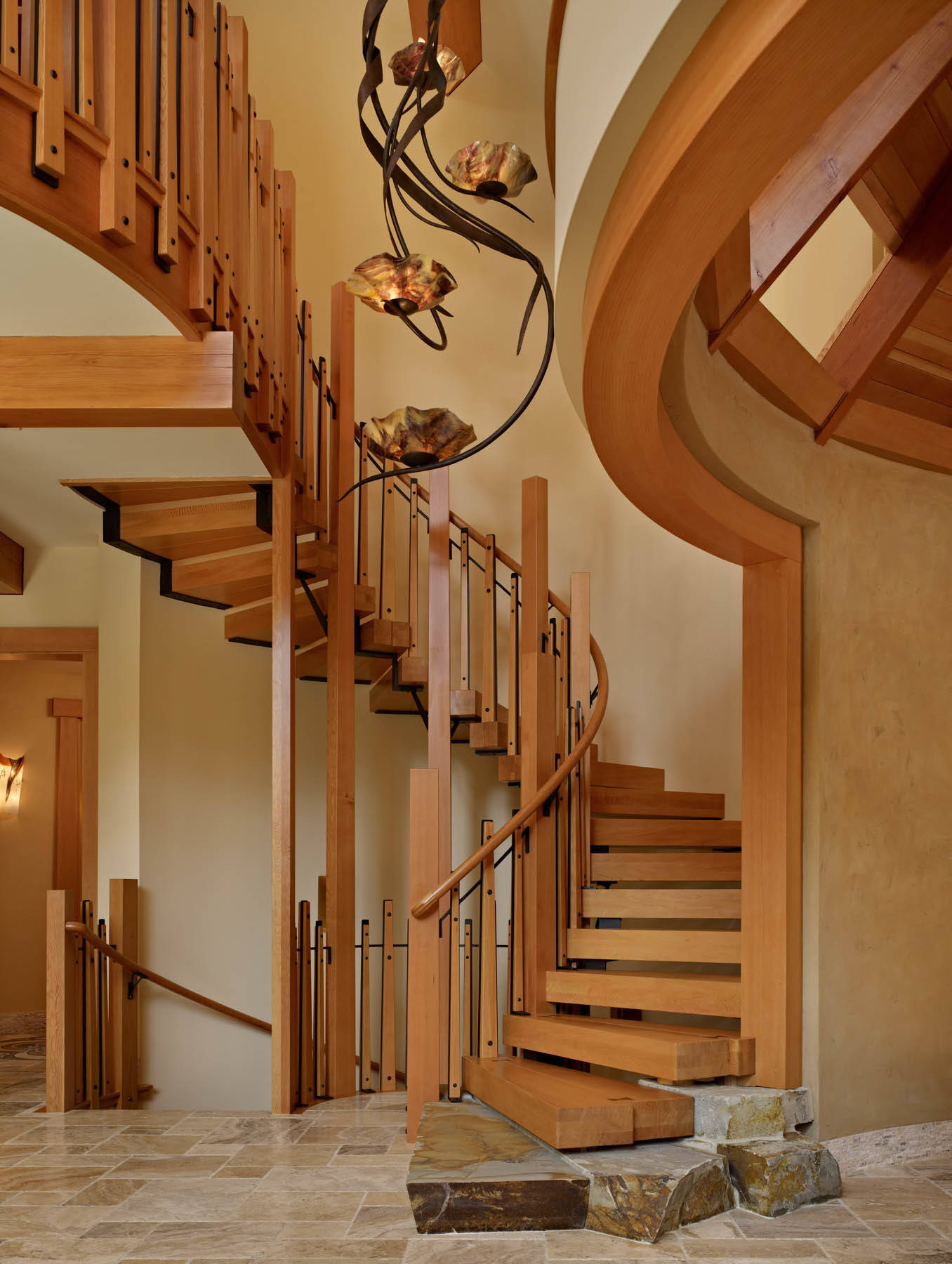 Rustic Staircase Design Ideas