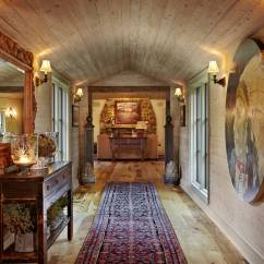 Log Cabin Living Room Decorating Ideas 4 Chairs 15 Great Rustic Hallway Designs That Will Inspire You With ...