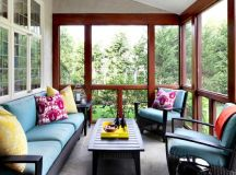 18 Clever Options For Closed Balcony To Enjoy In All ...