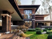 A Contemporary Prairie House by Yunakov Architecture in ...