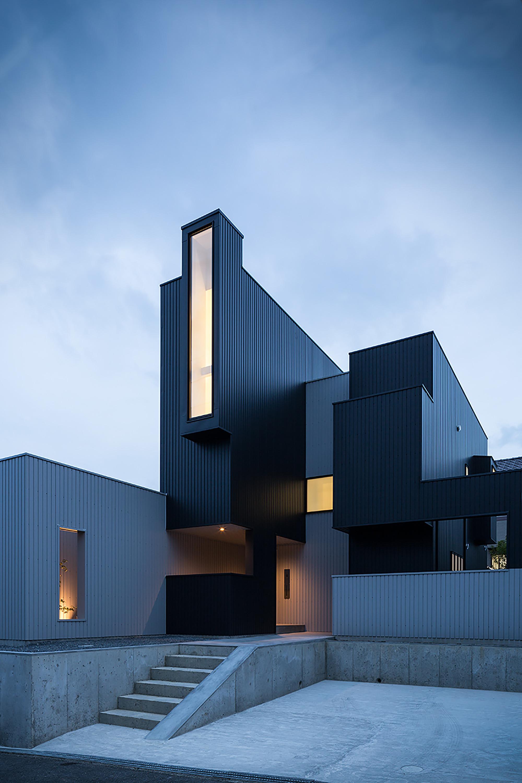 Scape House by FORM  Kouichi Kimura Architects in Shiga