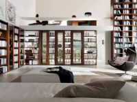 16 Fascinating Living Rooms With Small But Functional Library
