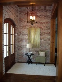 16 Fascinating Ideas To Style Your Entryway With Brick Walls