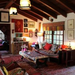 Bohemian Style Living Room Furniture For Small With Fireplace 15 Playful Designs In Boho