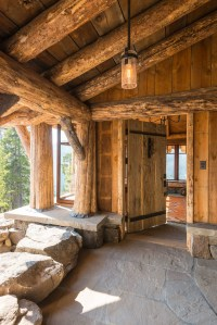 15 Enticing Rustic Entrance Designs That Will Tempt You To ...