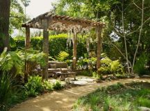 15 Stunning Rustic Landscape Designs That Will Take Your ...