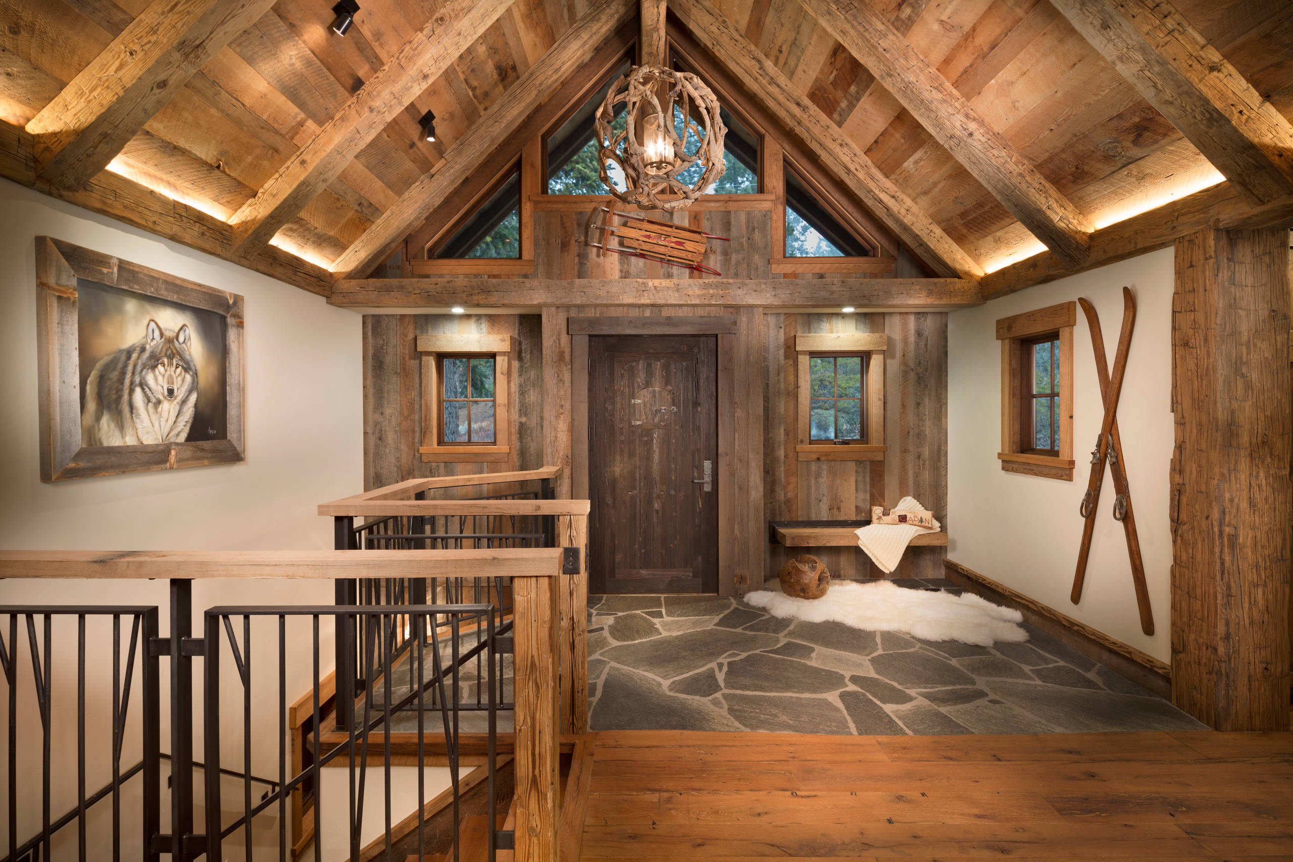 15 Welcoming Rustic Entry Hall Designs Youre Going To Adore