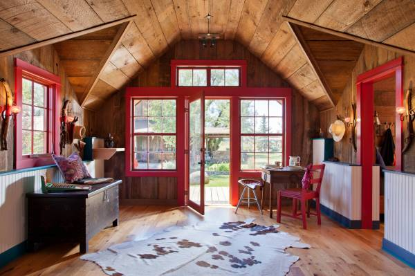 Welcoming Rustic Entry Hall Design ' Adore
