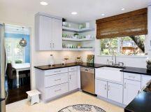 20 Super Functional Corner Kitchen Designs Suitable For ...