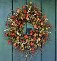 16 Whimsical Handmade Thanksgiving Wreath Designs For Your ...