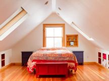 17 Excellent Ideas To Design Magnificent Bedroom In The Attic