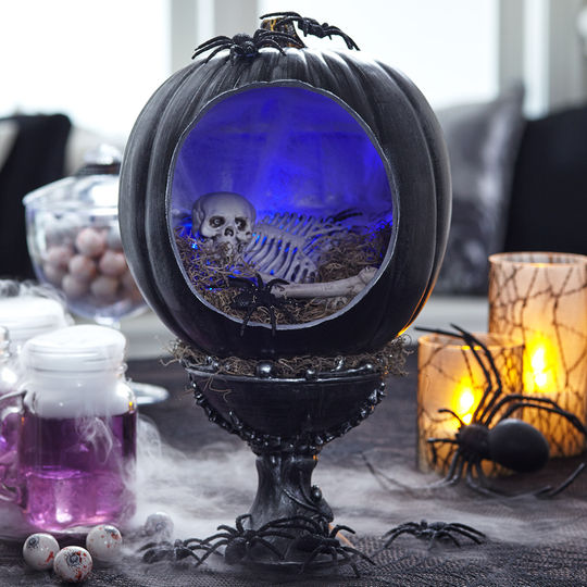 Pumpkin Diorama New Astonishing Trend To Decorate Your