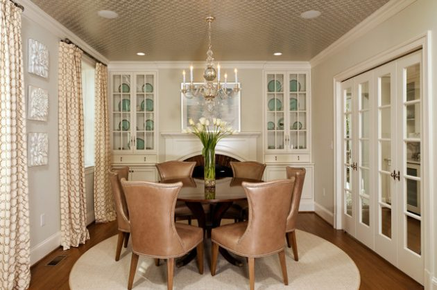 17 Simple But Elegant Small Dining Room Designs