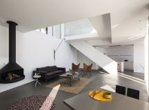 Sunflower House by Cadaval & Solà-Morales in Girona, Spain