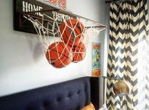 17 Inspirational Ideas For Decorating Basketball Themed ...
