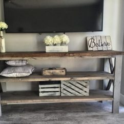 Center Island Kitchen Table Ikea Cabinet Handles 15 Classy Handmade Farmhouse Furniture Designs You Could Diy