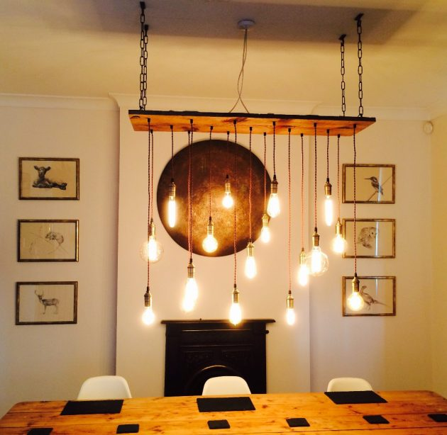 16 fantastic handmade rustic lighting