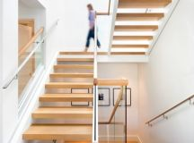 16 Sophisticated Scandinavian Staircase Designs For An ...