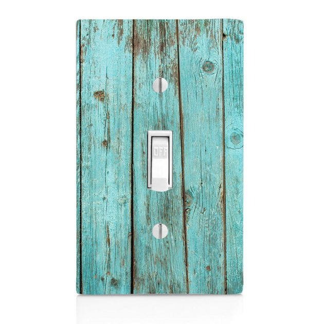 Wood Hand Painted Switch Plate Covers