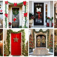 Beautiful Living Room Home Interior Decorations Ideas 2016 21 Extravagant Christmas For Your Front Door