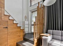 Modern Scandinavian Loft Interior by InArch in Vilnius ...