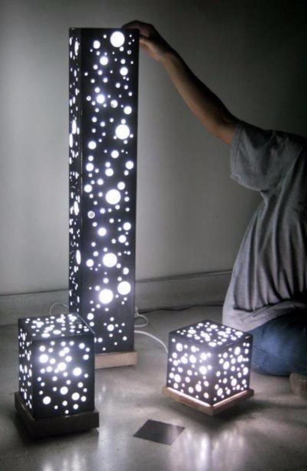 Picture Lights Diy