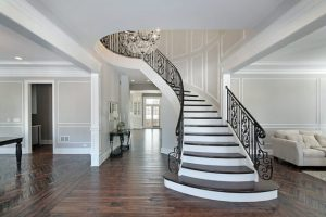 19 Excellent Ideas For Decorating Entrance Staircase With ...