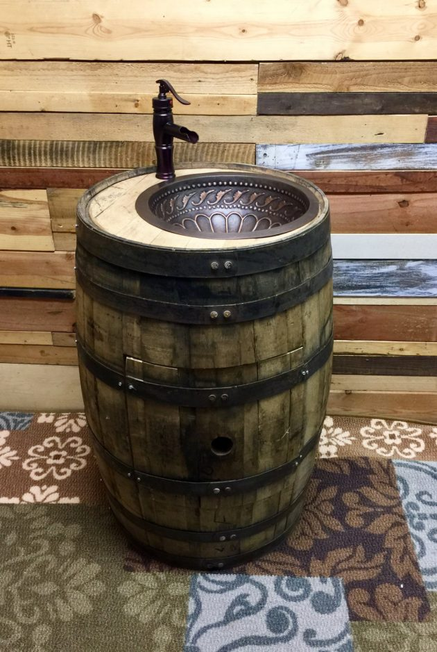 18 Incredible Handmade Barrel Furniture Designs Youll