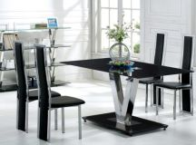 Timeless Black & White Dining Room Designs For Glamorous ...