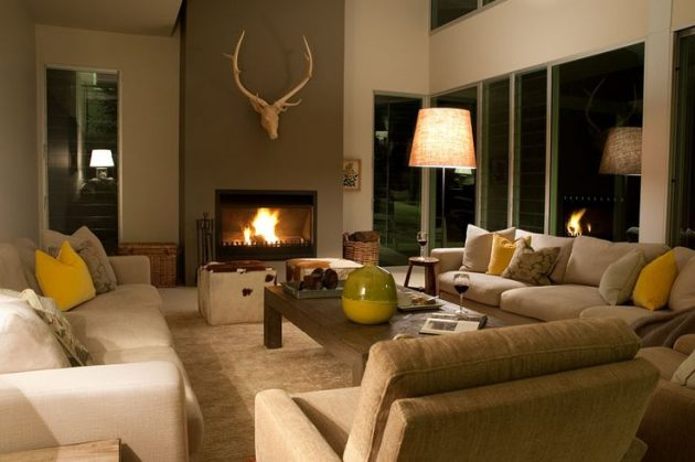 19 Alluring Living Room Designs In Earth Tones That Will