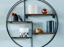17 Remarkable DIY Round Shelf Designs To Adorn Your Empty ...