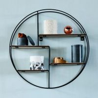 Round Wall Shelves - Home Design