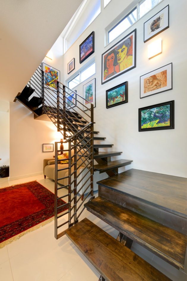 15 Outstanding MidCentury Modern Staircase Designs