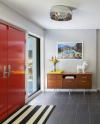 17 Captivating Mid-Century Modern Entrance Designs That ...