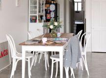 17 Divine Dining Room Designs With Concrete Flooring