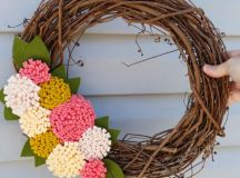 16 Enchanting Handmade Spring Wreath Designs To Refresh ...