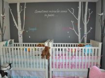 19 Interesting Ways To Decorate Stunning Nursery For Twins