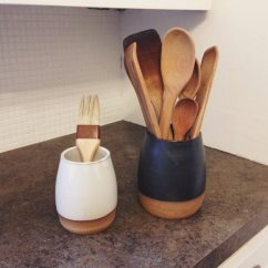 Kitchen Tool Holder Stand Alone Island 15 Amazing Housewarming Gifts In The Form Of Handmade Utensil Holders