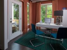15 Inspirational Transitional Home Office Designs For ...