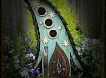 15 Whimsical Handmade Birdhouse And Feeder Designs To ...