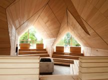 Jordanbad Sauna Village by Jeschke Architektur & Planung ...