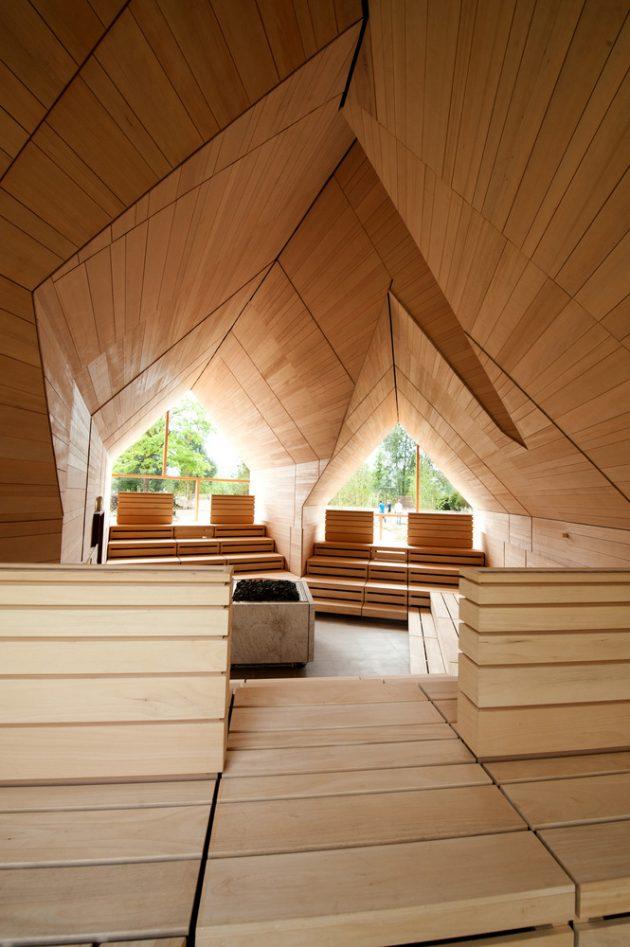 Jordanbad Sauna Village By Jeschke Architektur Amp Planung
