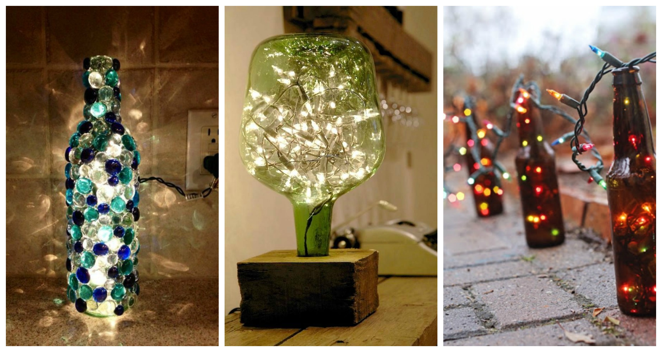 23 Ingenious Ideas To Transform Old Glass Bottles Into