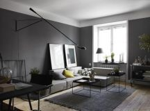 17 Bold Interiors With Black Wall For Those Who Think ...