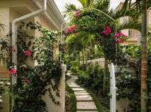 15 Beautiful Transitional Landscape Designs For A Private ...