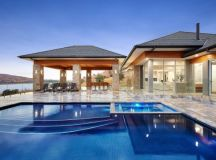 16 Extravagant Transitional Swimming Pool Designs You Won ...